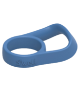S'well Bottle Silicone Handle Blue