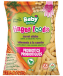 Baby Gourmet Finger Foods Carrot Sticks Lentil & Chickpea Puffs