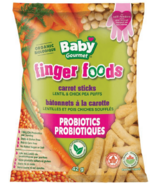 Baby Gourmet Finger Foods Carrot Sticks Lentil & Chickpea Puffs