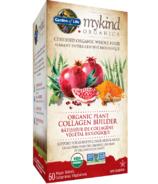 Le constructeur de collagène végétal biologique de Garden of Life mykind Organics