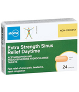 atoma Extra Strength Sinus Relief DayTime Non Drowsy