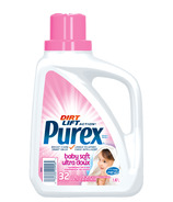 Purex Triple Action Ultra Concentrate Baby Soft Detergent