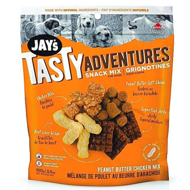 Jay\'s Tasty Adventures Peanut Butter Chicken Snack Mix