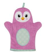 ZOOCCHINI Baby Snow Terry Bath Mitt Penny the Penguin