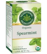 Traditional Medicinals Organic Spearmint Tea