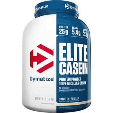 Dymatize Nutrition Elite Casein Smooth Vanilla 4 lbs