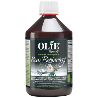 Olie New Beginnings Organic Fermented Herbal Probiotic Drink