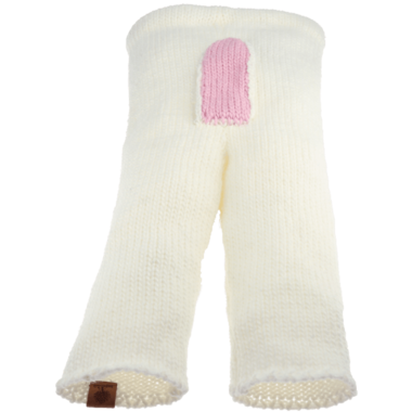 Bedford Road Off White Knitted Deer Tail Pants