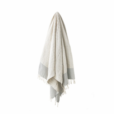 Stray & Wander Coastal Towel Dark Grey