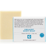 Consonant Skin+Care Organic Olive Oil Body Soap