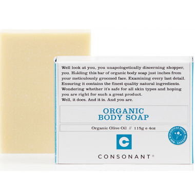 Consonant Organic Olive Oil Body Soap