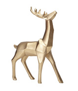 Harman Geometric Standing Reindeer Large Gold