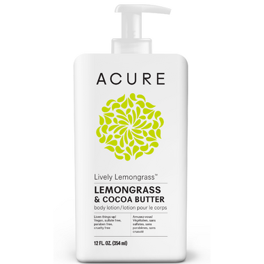 Acure Lively Lemongrass Body Lotion