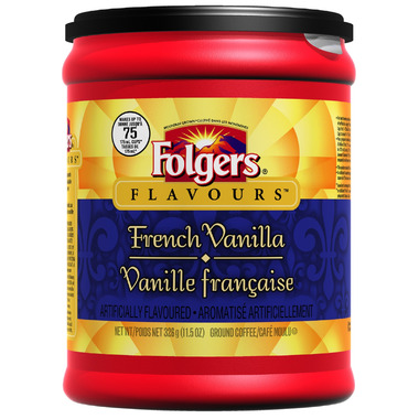 Folgers Flavours French Vanilla Ground Coffee