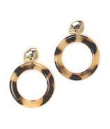 Lovers Tempo Odessa Hoop Earrings Tortoise