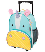 Skip Hop Zoo Kids Rolling Luggage Eureka Unicorn