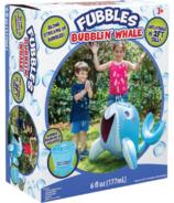 Fubbles Bubbles Bubblin Whale