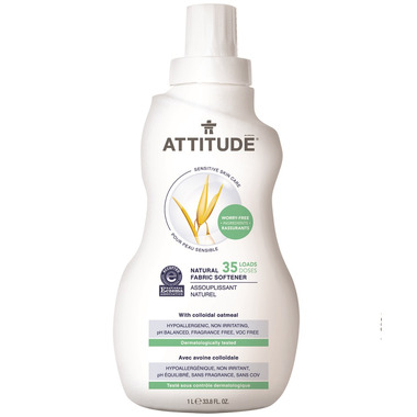 ATTITUDE Natural Fabric Softener