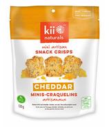 Kii Naturals Cheddar Artisan Snack Crisps