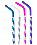 GreenPaxx Silicone Reusable Straws Pretty Pastels