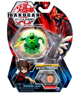 Bakugan Ventus Cyndeous Collectible Action Figure and Trading Card