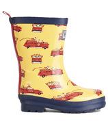 Hatley Vintage Fire Trucks Rain Boots
