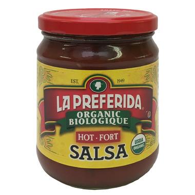 La Preferida Organic Salsa Hot