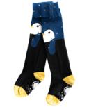 Q for Quinn Organic Cotton Tights Penguin