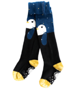 Q for Quinn Organic Cotton Tights Penguin