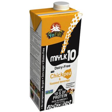 YoFiit Miylk10 Chickpea Milk Alternative Vanilla Cinnamon
