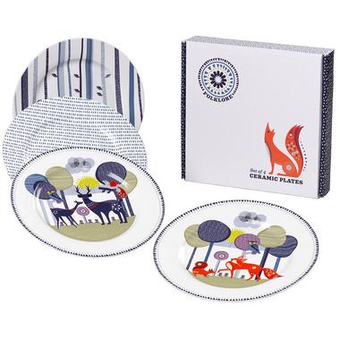 Folklore Ceramic Plates