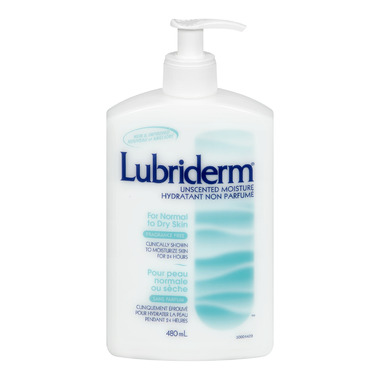 Lubriderm Unscented Moisture Lotion