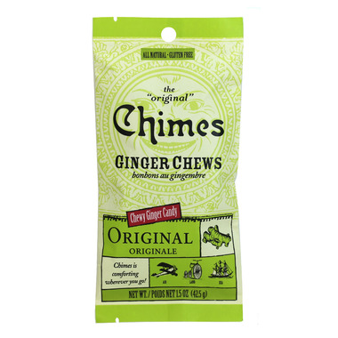 Chimes Original Ginger Chews Small Pouch