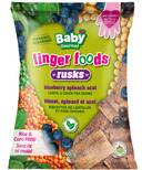 Baby Gourmet Blueberry Acai Spinach Rusks