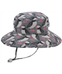 Puffin Gear Sunbaby Hat Puffin Love Grey