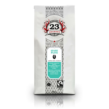 23 Degrees Roastery Spark Plug Whole Bean Coffee