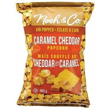 Nosh & Co. Air Popped Caramel Cheddar Popcorn