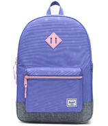 Herschel Supply Heritage Youth XL Dusted Peri, Polka & Raven Crosshatch