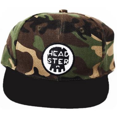 Headster Kids Camo Snap Back
