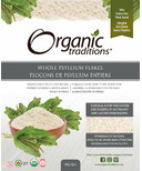 Organic Traditions Whole Psyllium Flakes