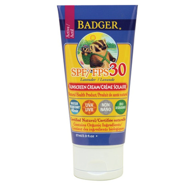 Badger Lavender Sunscreen Cream
