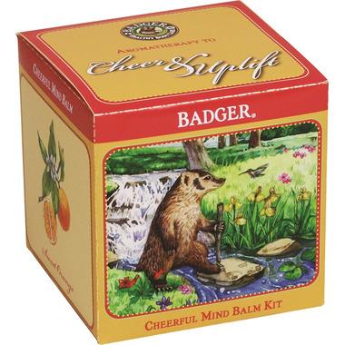 Badger Balm Cheerful Mind Balm Gift Cube