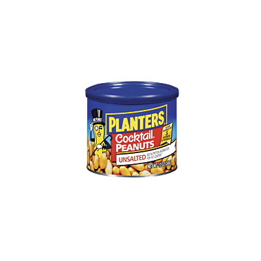 Planters Unsalted Cocktail Peanuts