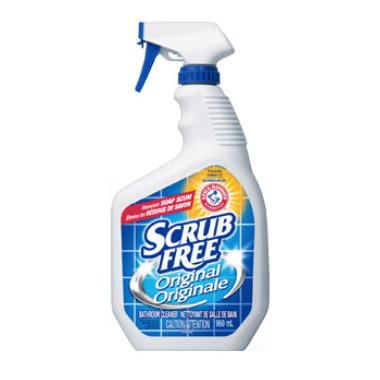 Scrub Free Soap Scum Remover