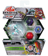 Bakugan Starter Pack 3-Pack Trox Ultra Armored Alliance Collectible Action Figures