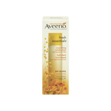 Aveeno Fresh Essentials Nourishing Moisturizer SPF 30