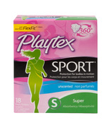 Playtex Sport Tampons Unscented