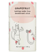 meow meow tweet Baking Soda Free Deodorant Stick Grapefruit