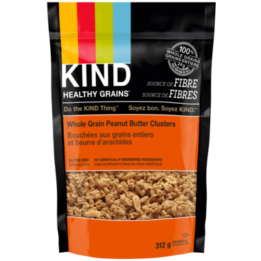 KIND Clusters Peanut Butter Whole Grain