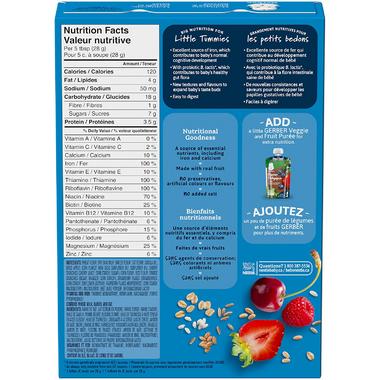 Gerber Multigrain Cherries & Berries Baby Cereal